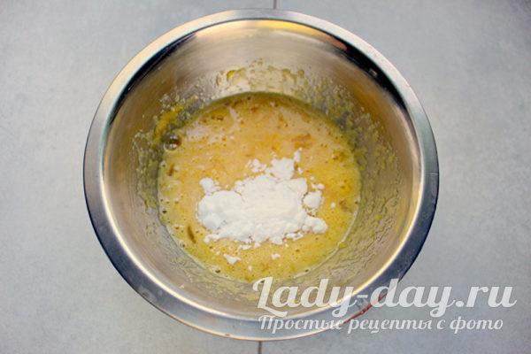 мука в яйцах