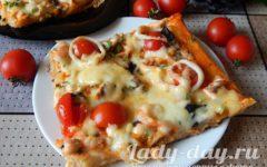 пицца с морепродуктами рецепт в домашних условиях