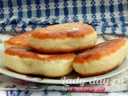 Пирожки с пупками и картошкой