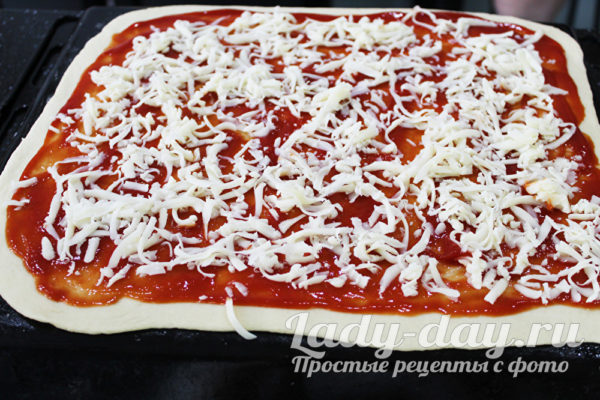 сыр на пиццу