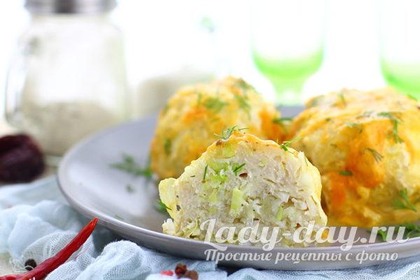 ленивые голубцы с капустой рисом и фаршем на сковороде, рецепт