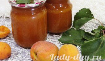 абрикосовый джем рецепт на зиму классический