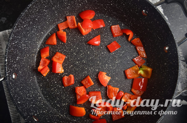 болгарский перец обжарить
