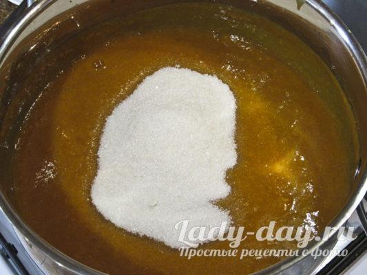 пюре и сахар
