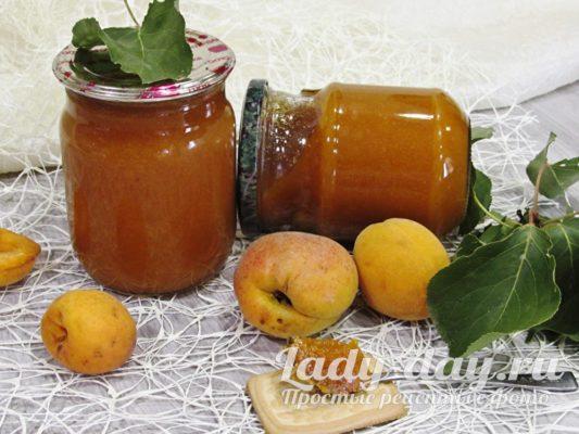 абрикосовый джем рецепт на зиму