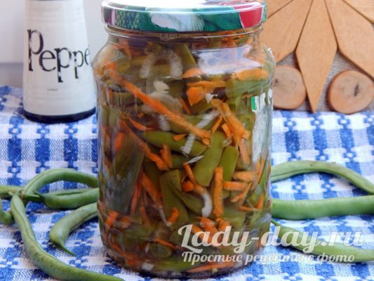 Рецепт спаржи по-корейски в домашних условиях, с морковью