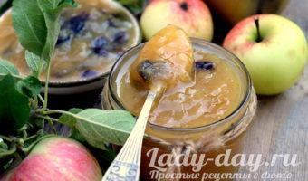 джем из яблок в домашних условиях простой рецепт