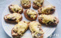 сушки с фаршем в духовке рецепт с фото пошагово с сыром