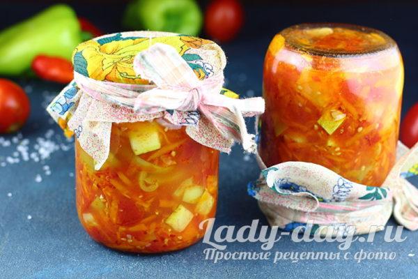 лечо из кабачков на зиму рецепты пальчики оближешь с помидорами