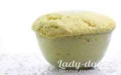 дрожжевое сдобное тесто для пирожков в духовке