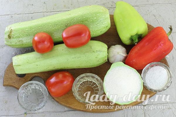 кабачки и другие овощи