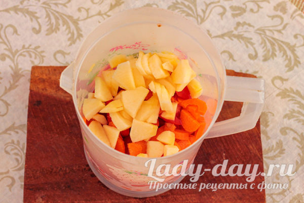 морковь и перец