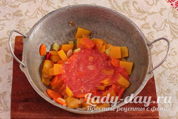 томат пюре
