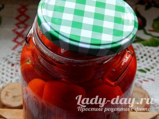 парим помидоры