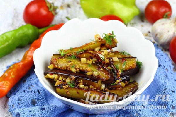 Карамелизированные баклажаны рецепт