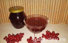 Варенье из калины красной, рецепт простой без косточек