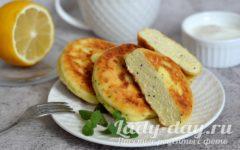 Сырники маком на сковороде