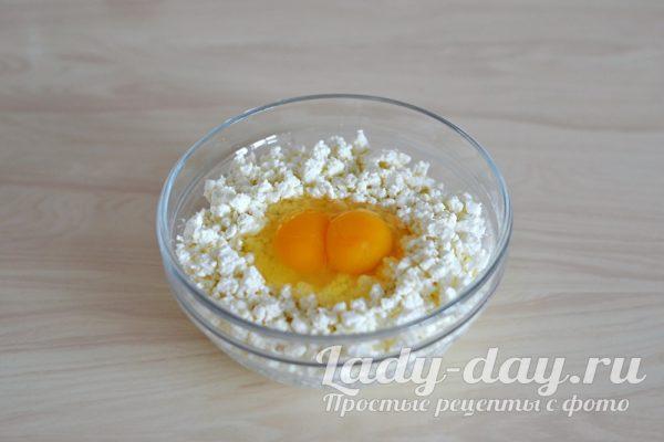 творог и яйца