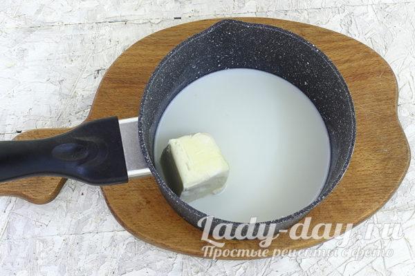 молоко и масло