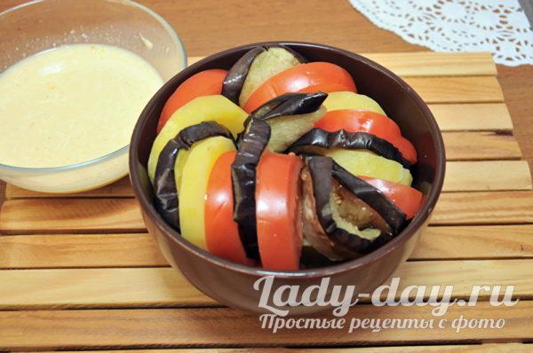 овощи ля запеканки