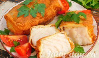Рыба в кляре - королевское угощение