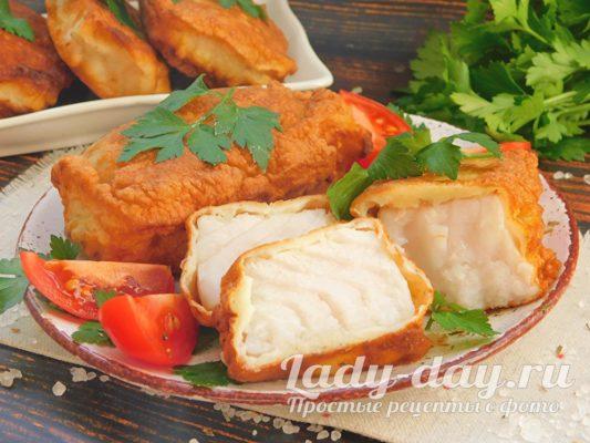 Рыба в кляре - королевское угощение, по простому рецепту