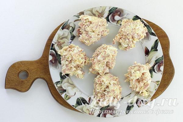 шарики закуски
