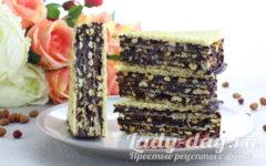 Вафельный торт «Грильяж»