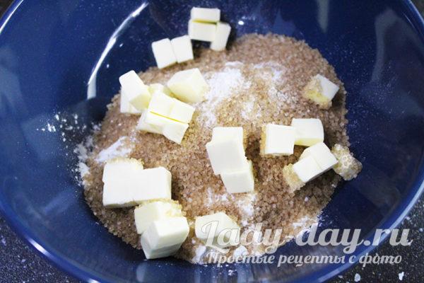 масло мука и сахар