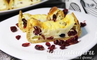 песочный пирог с творогом рецепт с фото пошагово в духовке простой