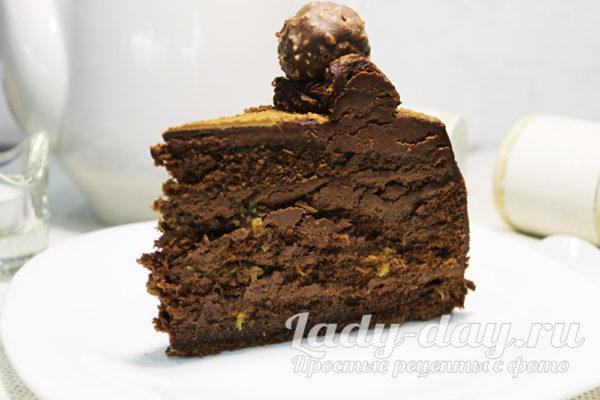 Самый шоколадный торт в домашних условиях