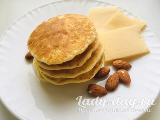 Сырные панкейки