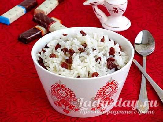 Рецепт кутьи из риса