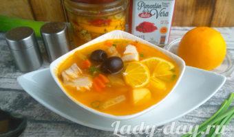 рыбная солянка рецепт приготовления в домашних условиях