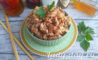 Вкуснейшее мясо Хе по корейски, рецепт из свинины