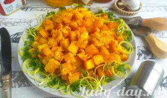 картошка с золотистой корочкой в духовке