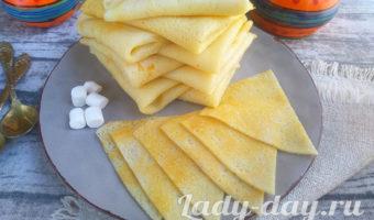 Вкуснейшие блинчики из рисовой муки