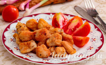 жареное куриное филе на сковороде рецепт