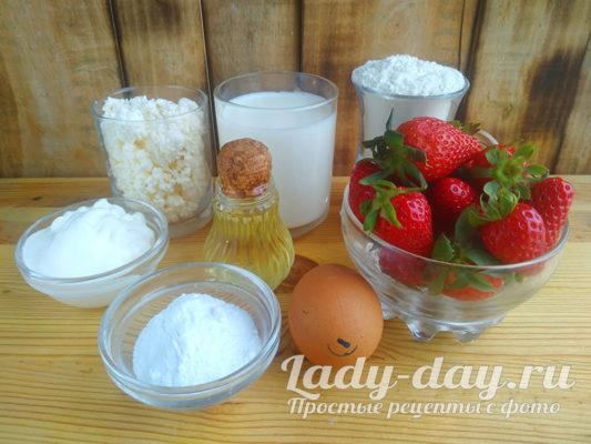 клубника и продукты
