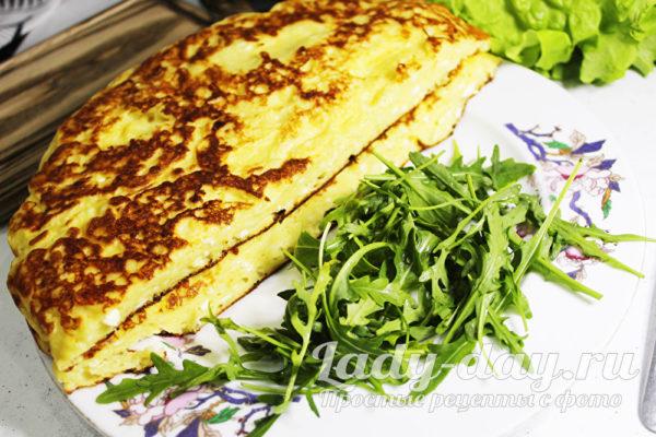 хачапури с сыром на кефире, на сковороде