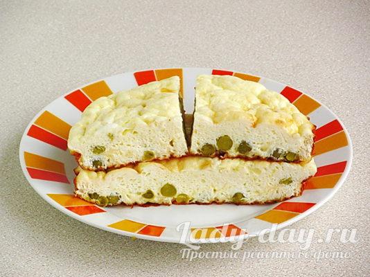 омлет с сыром в духовке