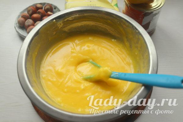 маргарин и яйца