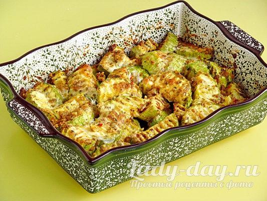 кабачки с чесноком рецепт быстрый и вкусный