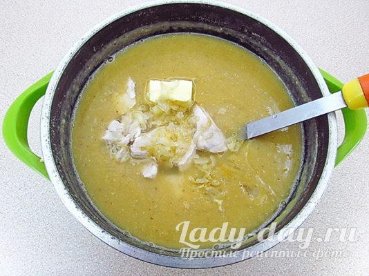 масло в суп