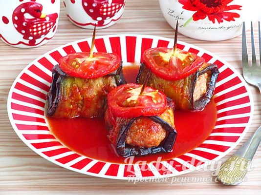 Баклажаны по-турецки - самый вкусный рецепт приготовления