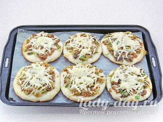 мини пиццы в духовке