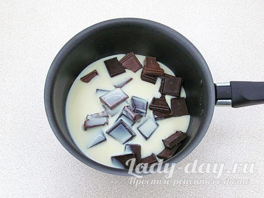 сгущенка и шоколад